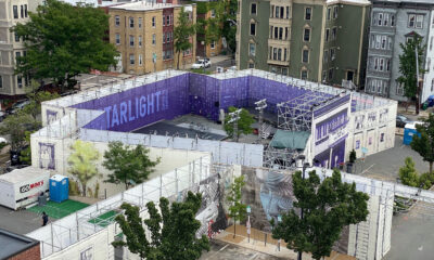 Overhead image of Starlight Square. Photo courtesy of Central Sq BID.