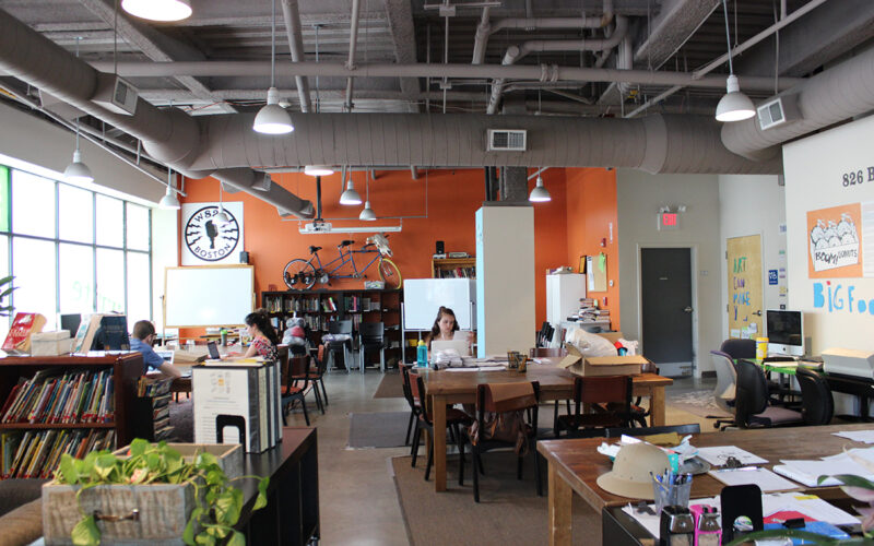 The tutoring center at 826 Boston
