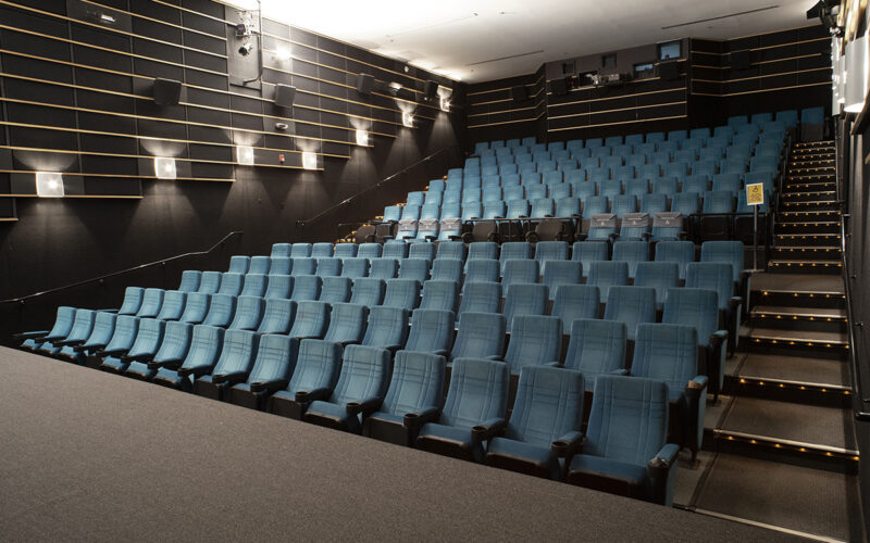 Theatre seating at Amherst Cinema Arts Center