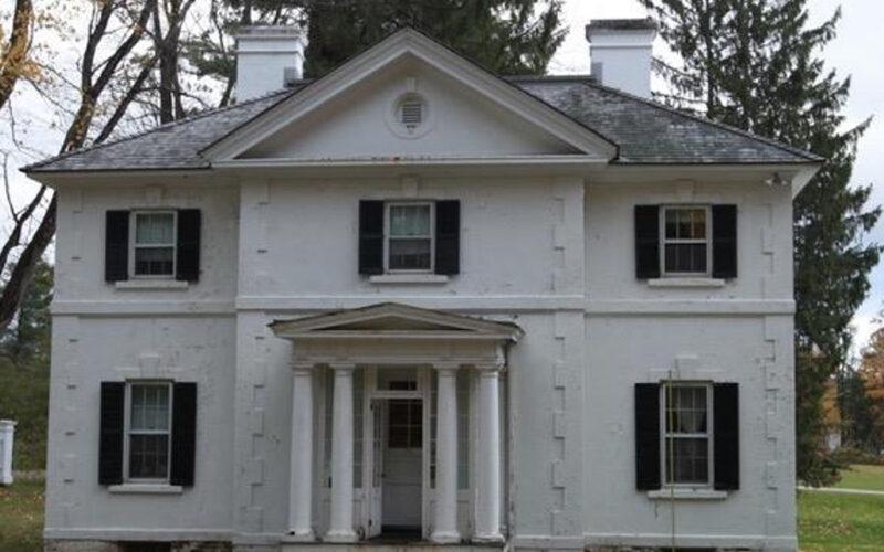 Exterior of the Edith Wharton Estate