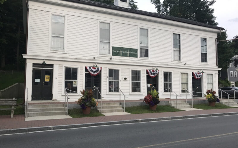 Front facade of the West Stockbridge Historical Society