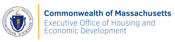 logo for the Commonwealth of Massachusetts' Executive Office of Housing and Economic Development