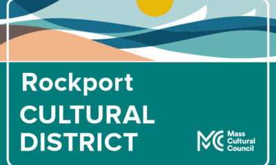 sign for Rockport Cultural District