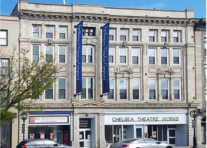 Front building façade of Chelsea Theatre Works