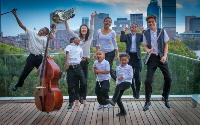 Boston Youth Symphony Orchestra Members