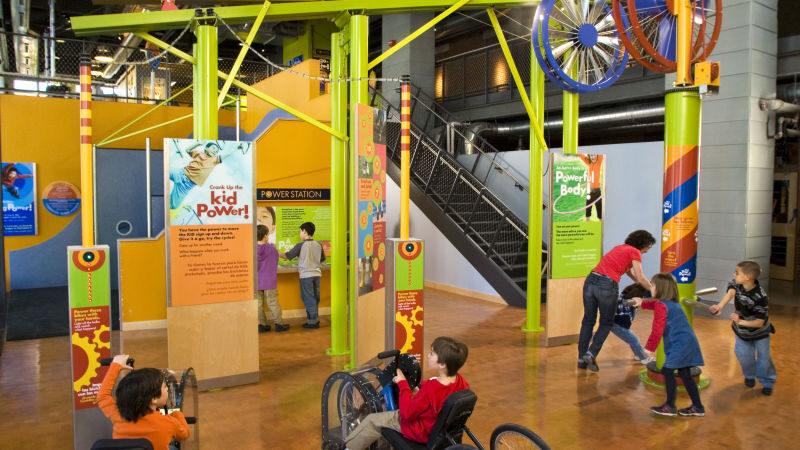 Exhibit at the Boston Children's Museum