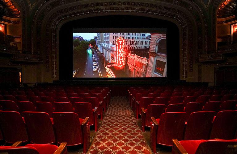 Film screening at Coolidge Corner Theatre