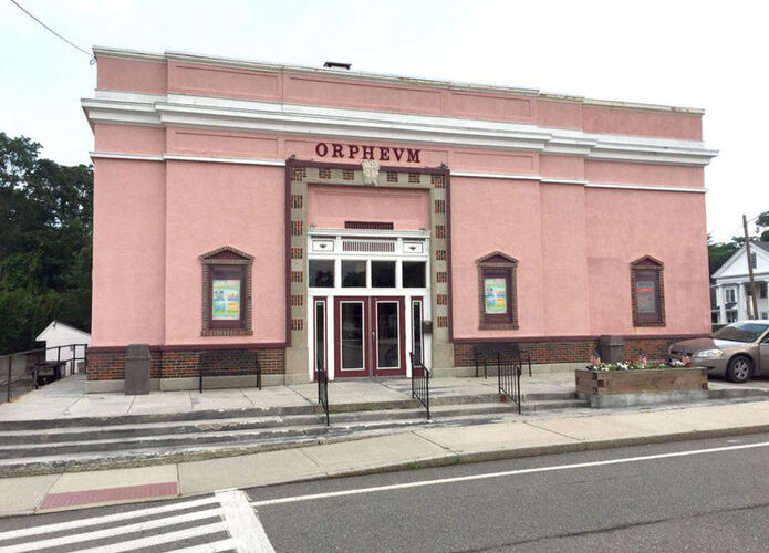 Street view of the Foxborough Regional Center for the Performing Arts