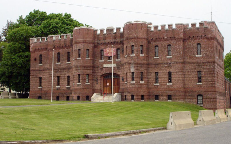 Former National Guard Armory building