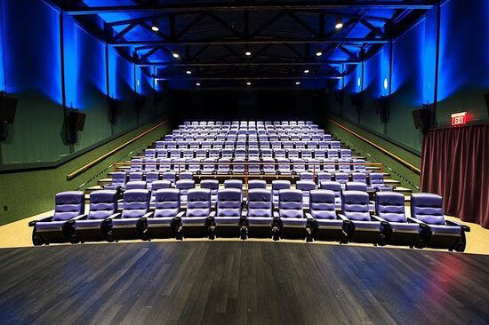 Theater seating at the Martha's Vineyard Film Center