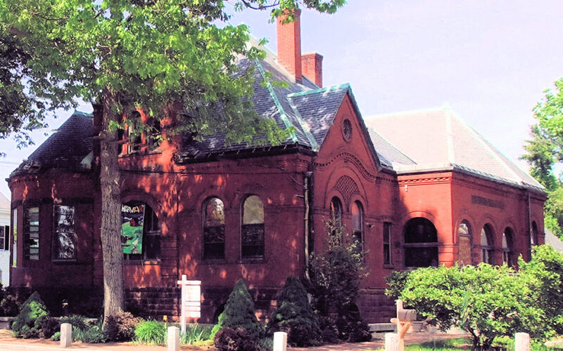The Old Hapgood Library building
