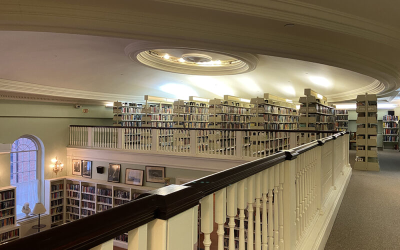 Mezzanine of the 1816 Lenox Library